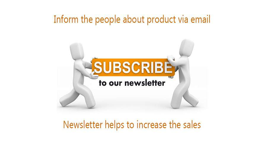 email newsletter desktop