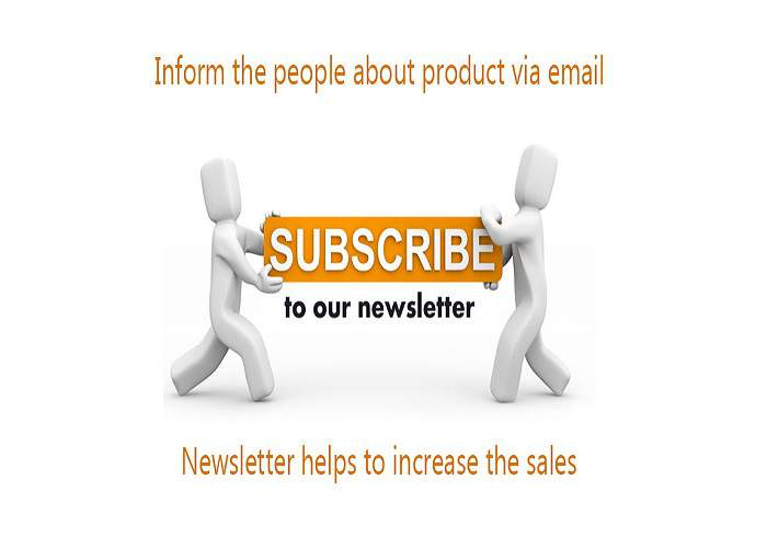 email newsletter tablets